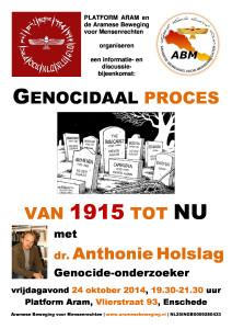 affiche Genocidaal proces - 2014-10-24 - versie 3