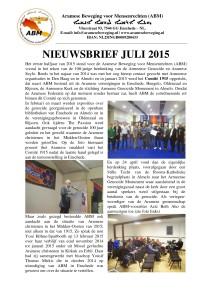 nieuwsbrief juli 2015-0